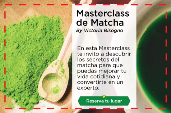 Masterclass de Matcha