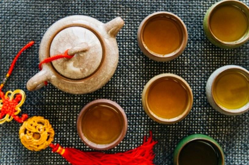 cuencos de tea blends