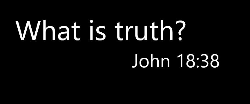 John 18 38