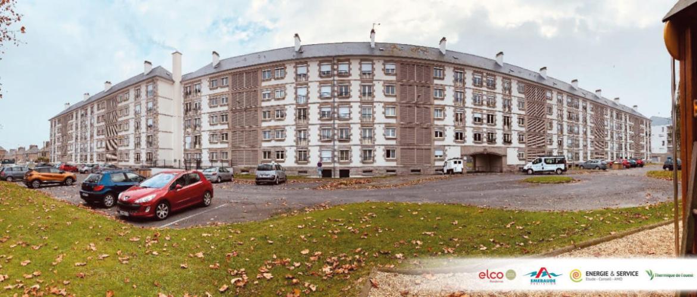 Les 214 logements du quartier de La Découverte à Saint-Malo rénovés par ELCO