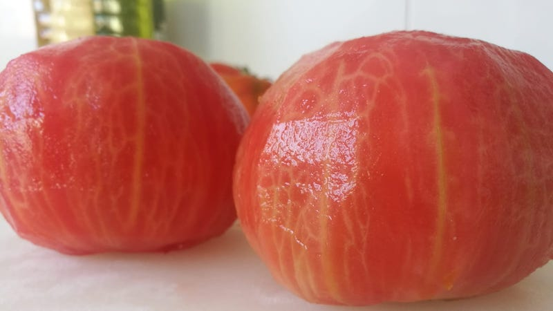Pelar los tomates