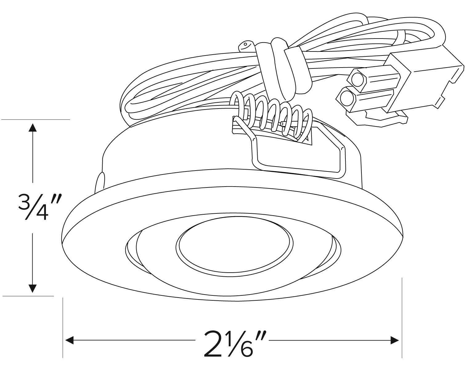Mini Led Recessed Undercabinet Light Kit
