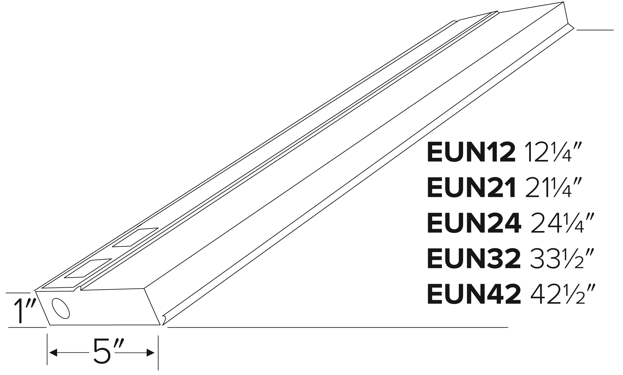 T5 Fluorescent Undercabinet Lights