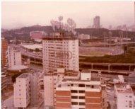 Vista hacia el estadio Universitario deesde Colinas de Bello Monte