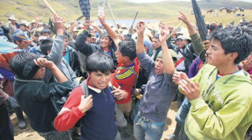 Conflictos sociales, Cajamarca, Yanacocha, Protestas antimineras, Proyecto Conga
