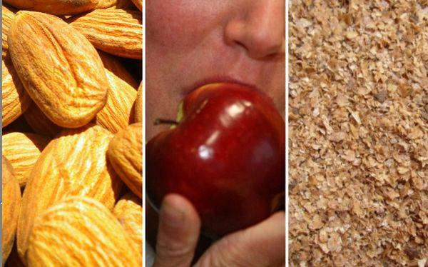 Razones para comer fibra