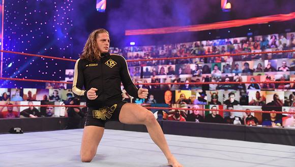 Riddle se enfrentará a Bobby Lashley y Keith Lee en una triple amenaza por el título de Estados Unidos este domingo |  Foto: WWE