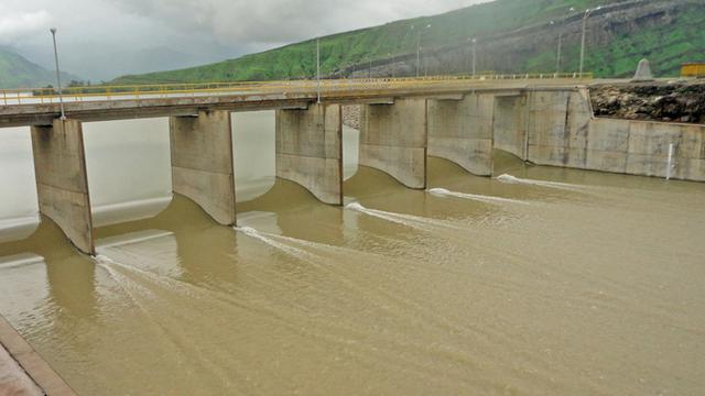 The decrease in rainfall has effects on the storage of water in the reservoirs in the north of the country.  (Photo: Midagri)