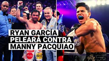 ¡Oficial!  Ryan García peleará con Manny Pacquiao este año