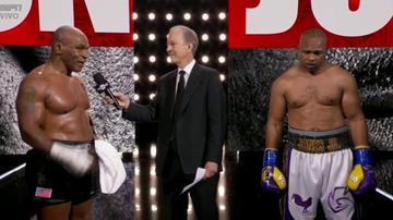 ¡Corbata!  Mike Tyson y Roy Jones Jr. empataron en ocho rondas en un partido de exhibición