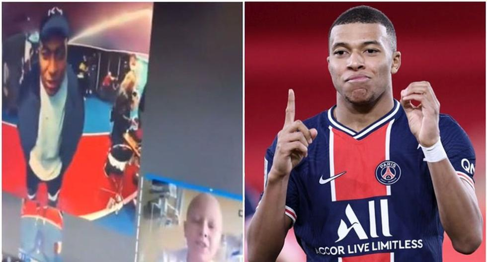 The most earthly Kylian Mbappé: French's beautiful gesture with a Peruvian boy hospitalized [VIDEO] – Peruvian Trade