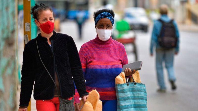 Cuba había logrado contener la pandemia, pero recientemente los casos han aumentado. (Foto: Getty Images, vía BBC Mundo).