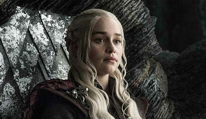 Emilia Clarke played for eight years to Daenerys Targaryen, a main character in Game of Thrones.