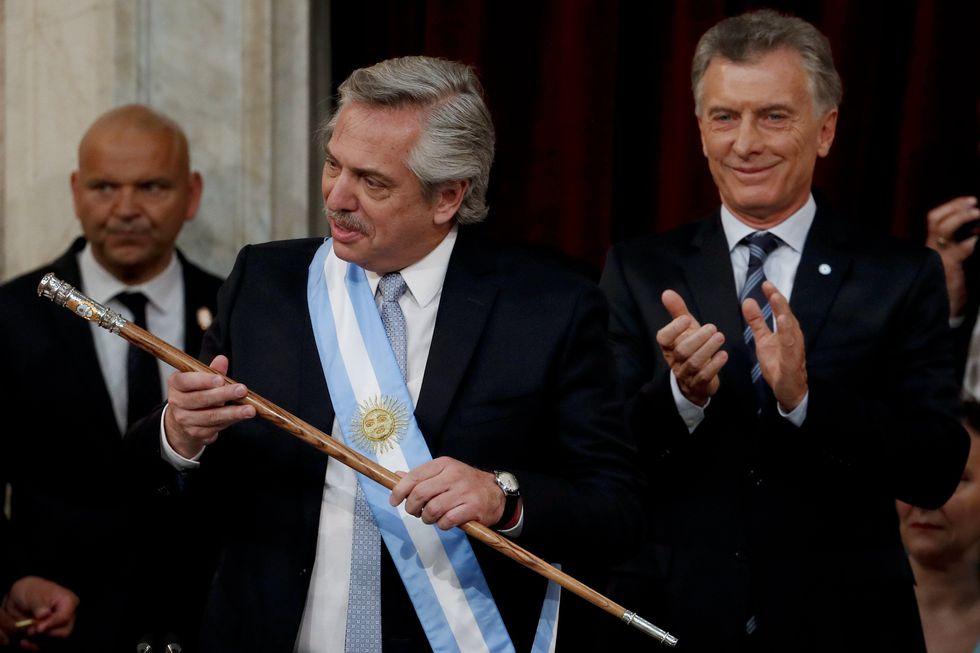 Alberto Fernández asumió la Presidencia de Argentina el pasado 10 de diciembre. (AP Photo/Natacha Pisarenko).