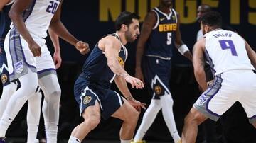 Facundo Campazzo debutó con una derrota ante los Kings en la NBA