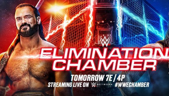 Siga todos los incidentes del evento WWE Elimination Chamber 2021 aquí
