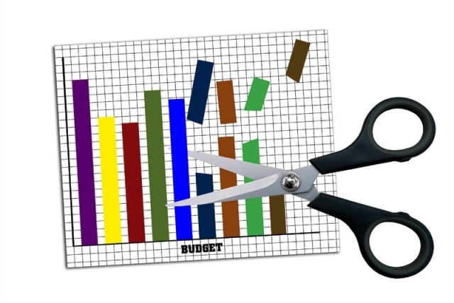presupuesto recortado