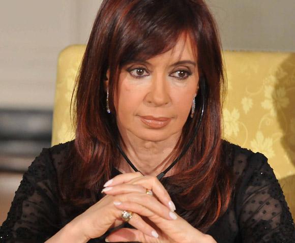 FILE PHOTO – Argentinian President Cristina Kirchner Has Thyroid Cancer