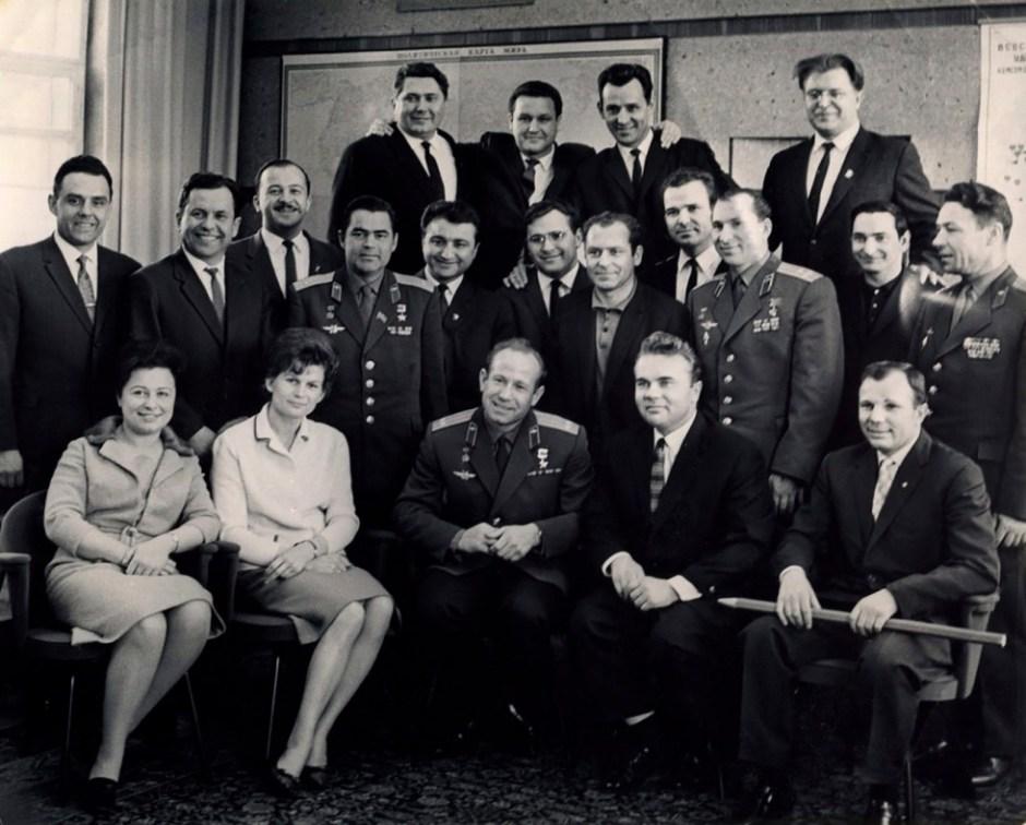 cosmonautas soviéticos