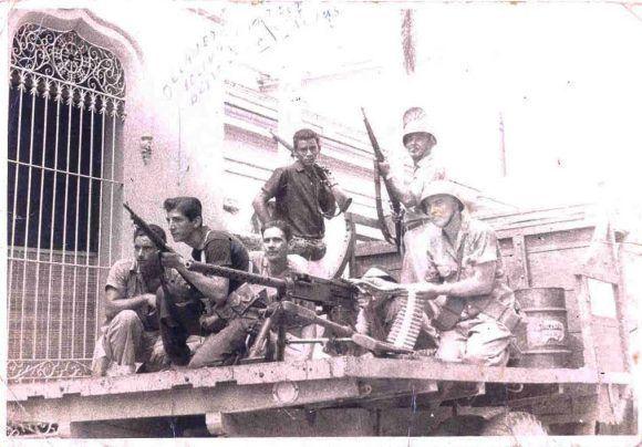 Los cienfuegueros combatieron heroicamente. Foto Jorge García