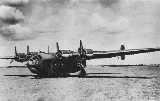 Arado Ar-232B como el utilizado en el intento de asesinar a Stalin.