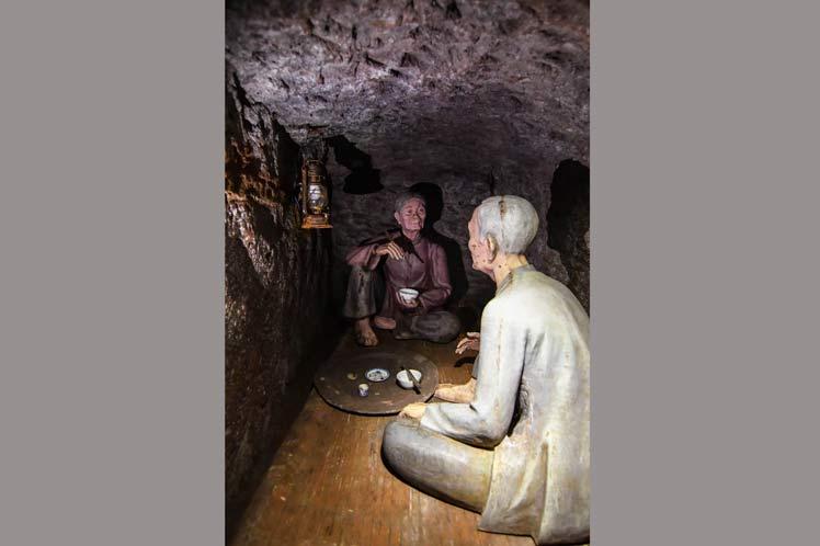 La vida en los túneles fue especialmente dura para niños y ancianos