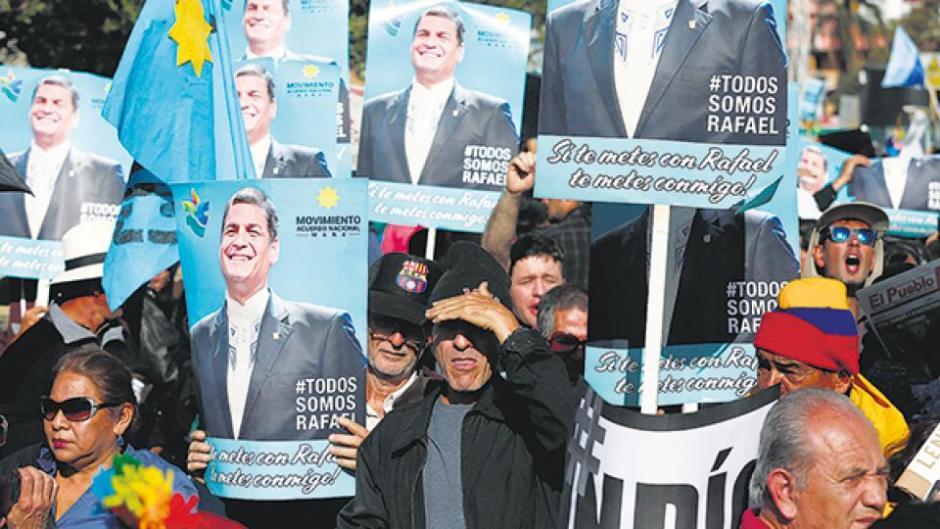marcha contra moreno ecuador 2