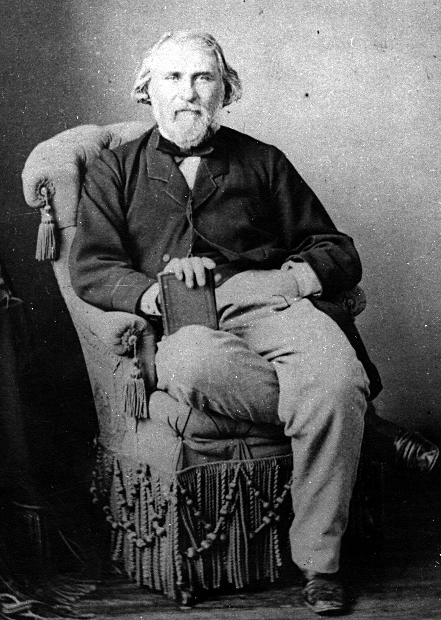 Iván Turguéniev.
