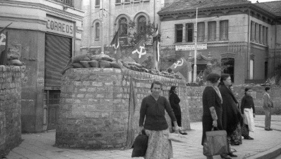 Cuatro Caminos, en octubre de 1936