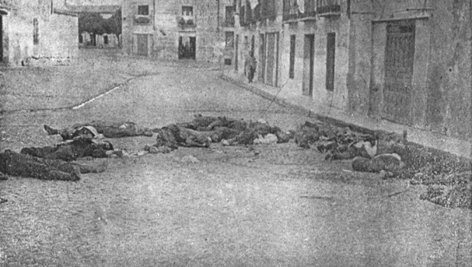 Fusilados en Talavera de la Reina en septiembre de 1936