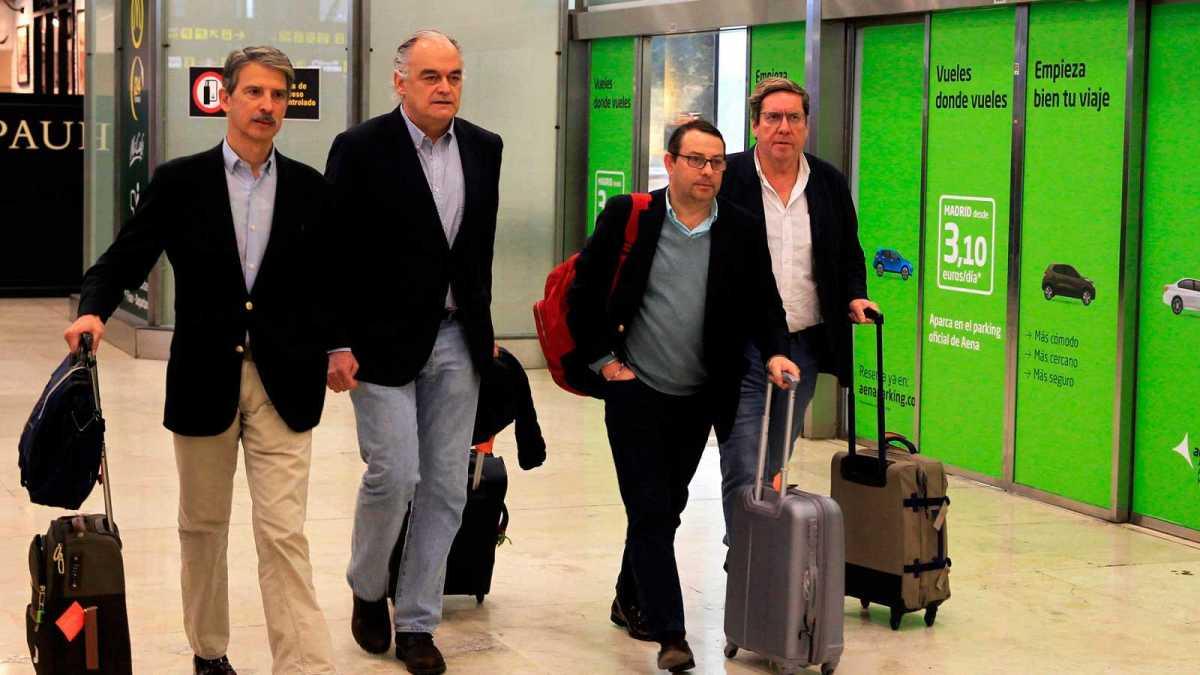 Venezuela expulsa a la delegación del Partido Popular Europeo que tenía previsto reunirse con Guaidó