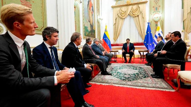 Grupo Internacional de Contacto se reunió con Maduro y Guaidó en Caracas