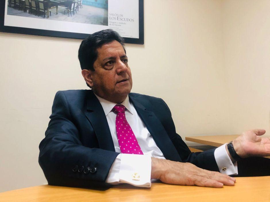 Diputado Edgar Zambrano, presidente de la Comisión de Investigación de la Operación Maletín Verde
