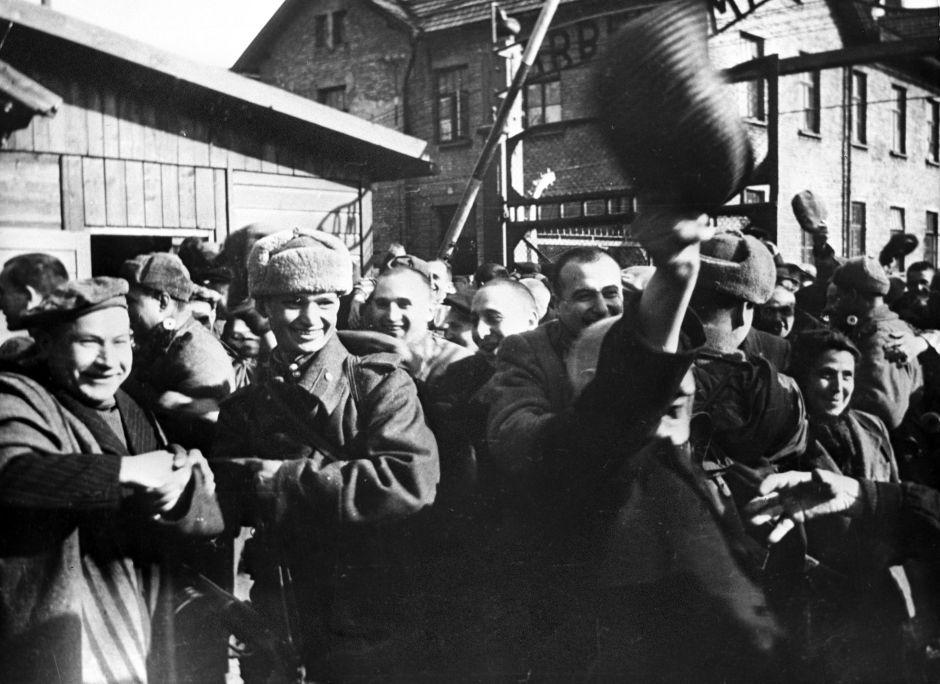 Liberación del campo de concentración Auschwitz por el Ejército Rojo