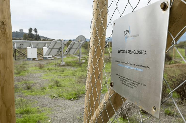 Estación sismológica del Centro Sismológico Nacional de la Universidad de Chile