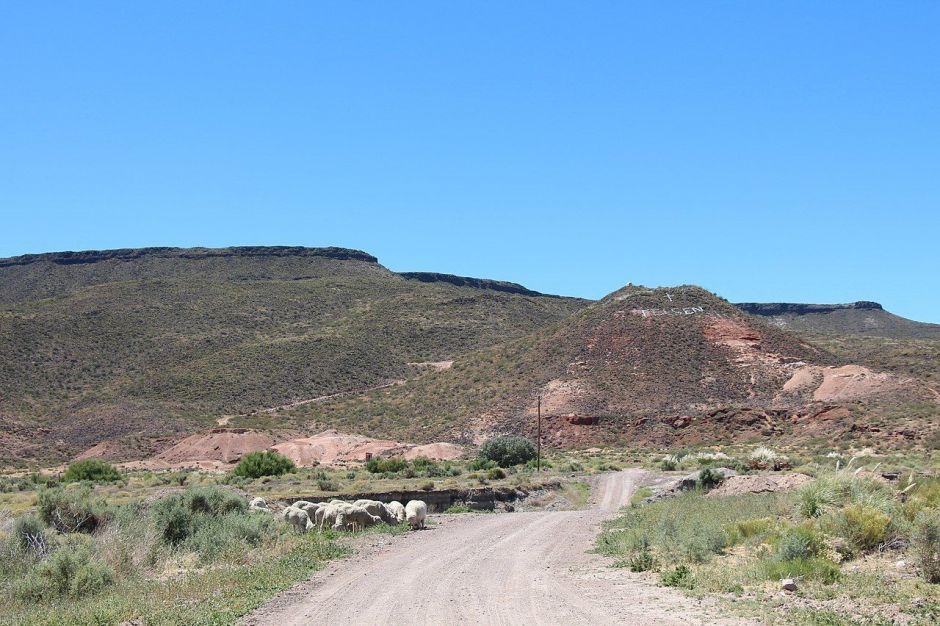 Telsen, en la provincia de Chubut, Argentina