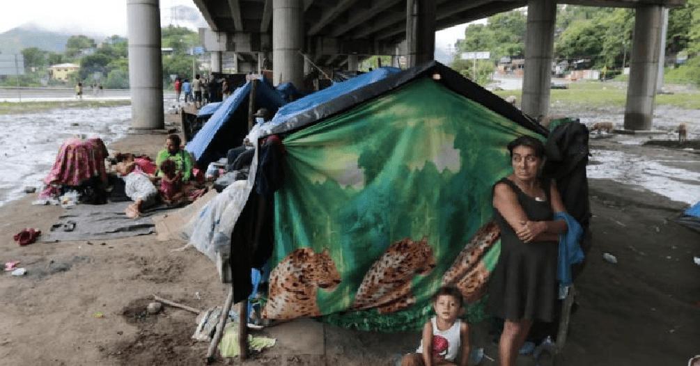 Víctimas de recientes huracanes Honduras