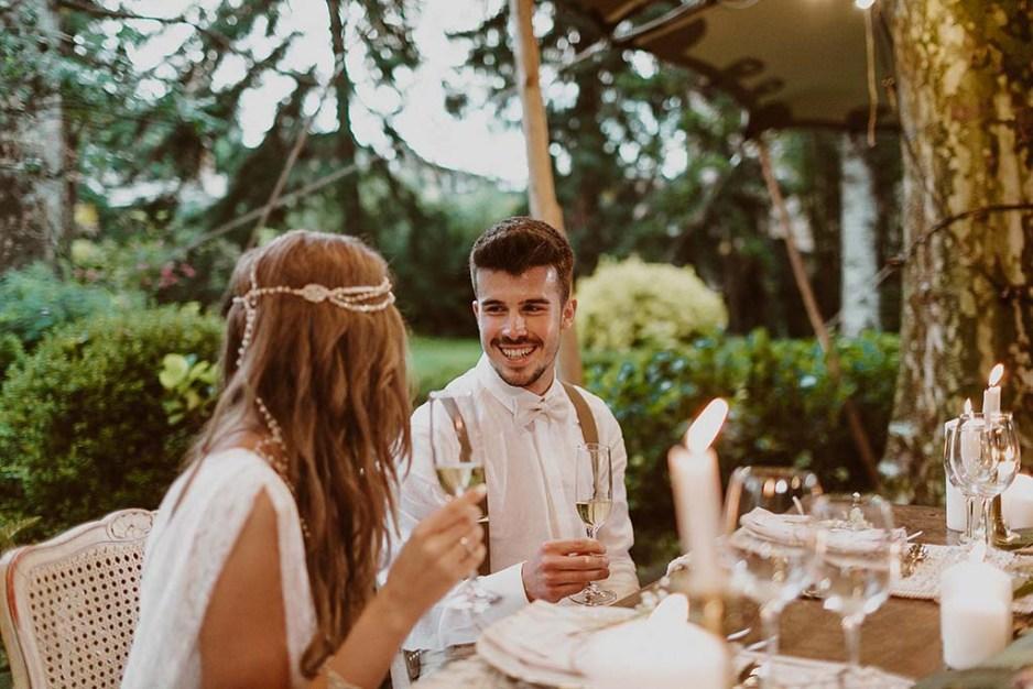 Claves para una boda estilo boho chic 17