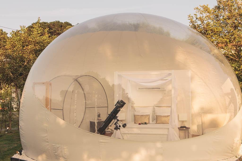 ALBARARI Hotel burbuja en Oleiros Una experiencia unica 4