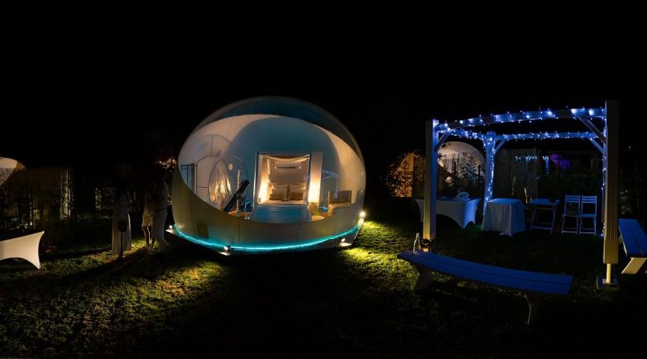 ALBARARI Hotel burbuja en Oleiros Una experiencia unica 5
