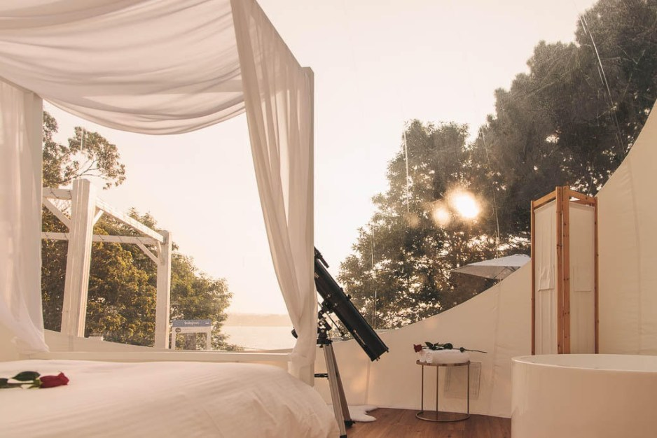 ALBARARI Hotel burbuja en Oleiros Una experiencia unica