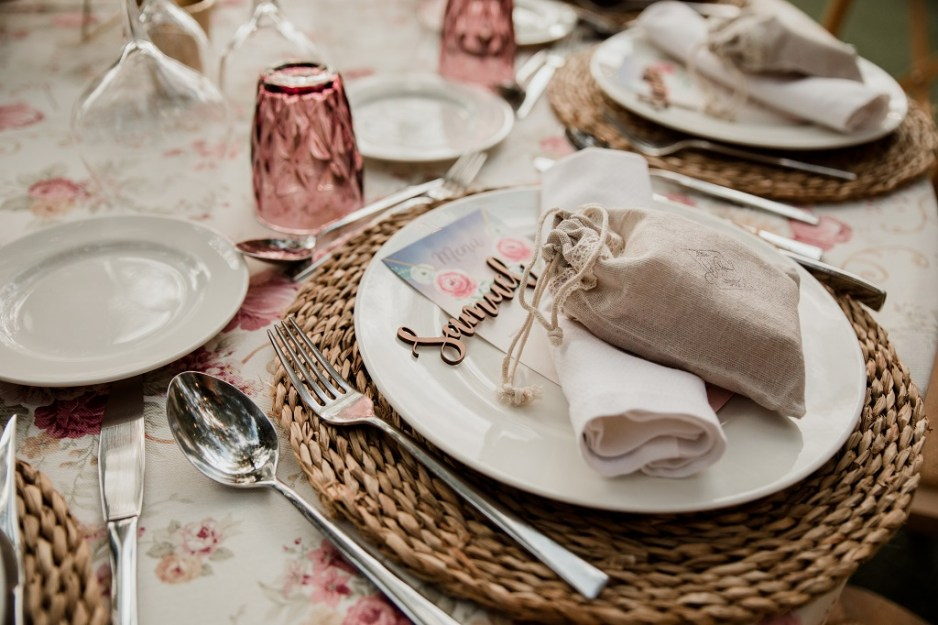 Decoración boda romántico vintage 2