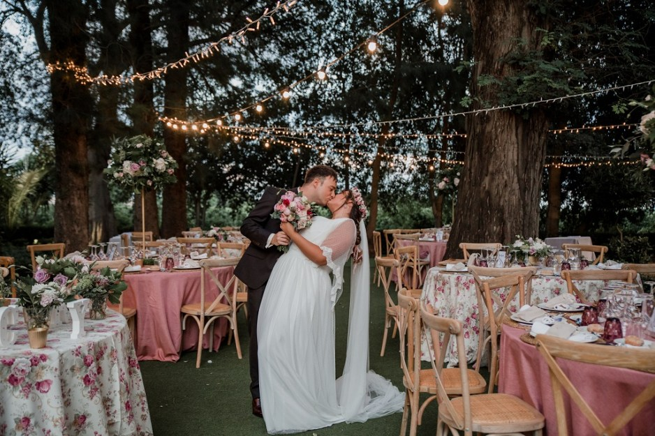 decoración boda romántico vintage