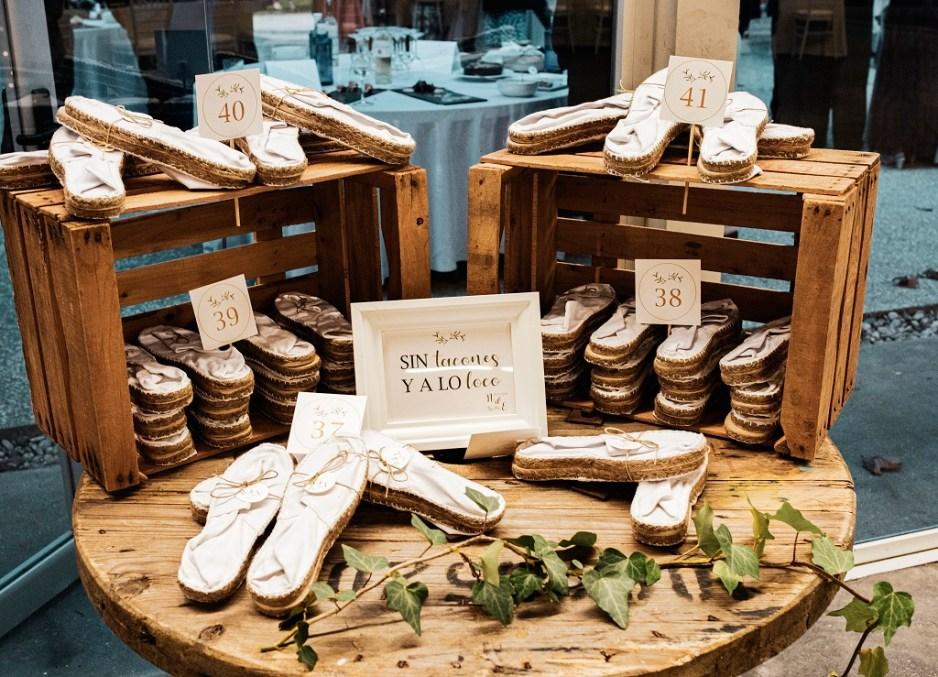 Rincon de alpargatas - Una boda con plumeros
