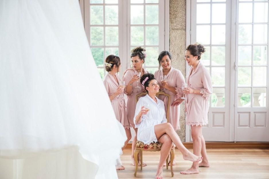Damas de honor bodas galicia