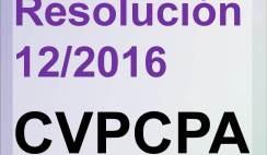 resoluciones CVPCPA, consejo de vigilancia de la profesion de contadores