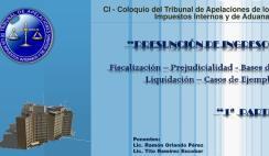 fiscalizacion dgii, sala de lo contencioso administrativo, coloquio taiia, liquidacion de impuestos