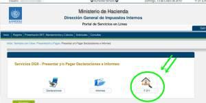 como informar cambio direccion al ministerio de hacienda el salvador