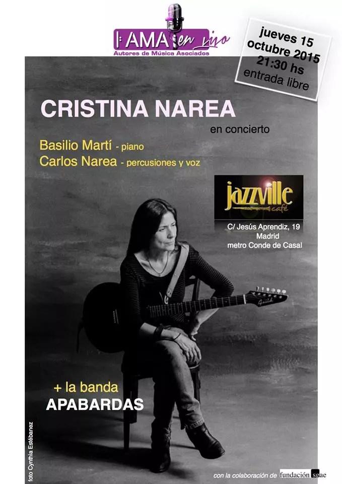 Cristina Narea en Jazzville