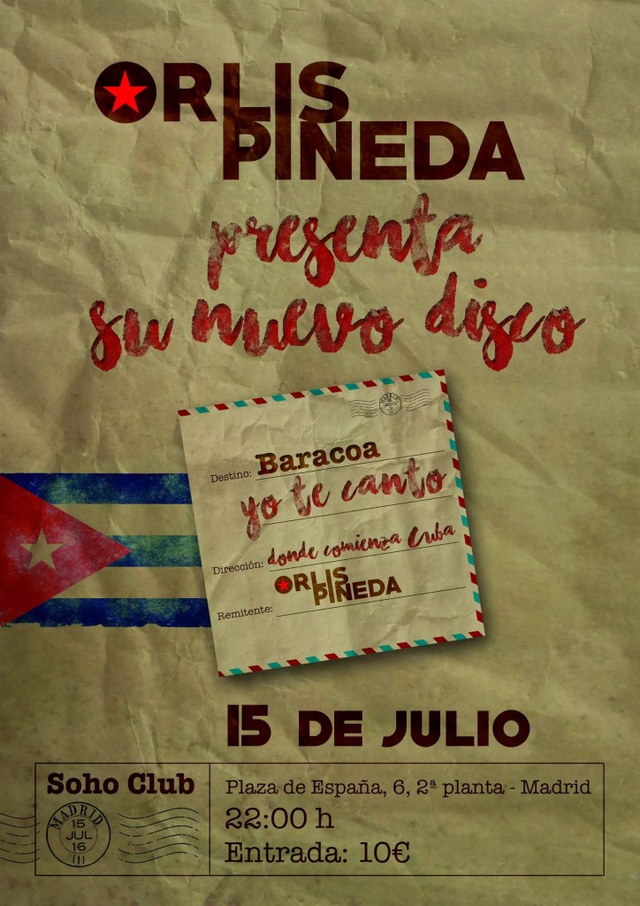 Cartel Orlis 15 julio